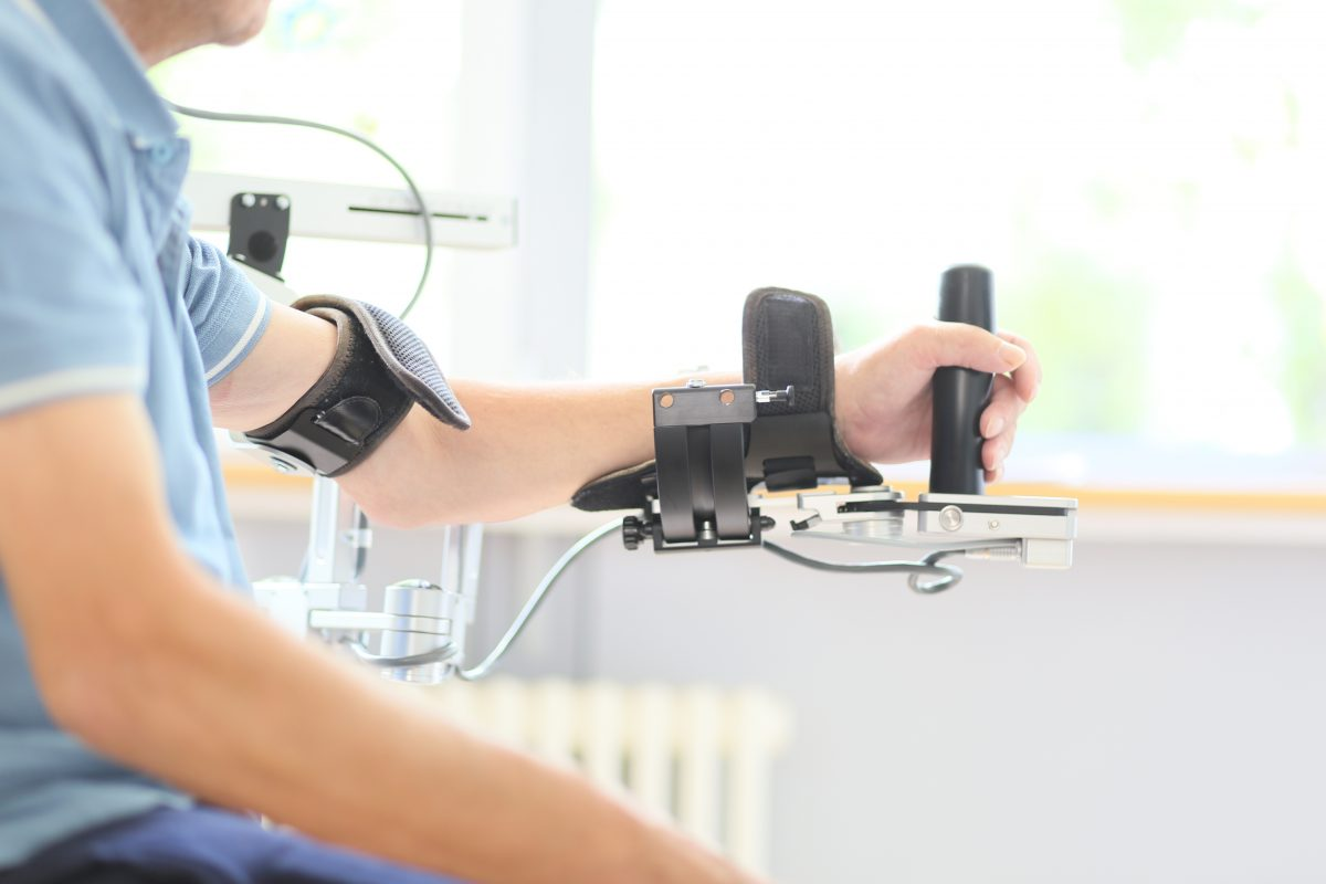 Therapeutische Behandlung im NRZ in Magdeburg. Foto: MEDIAN
