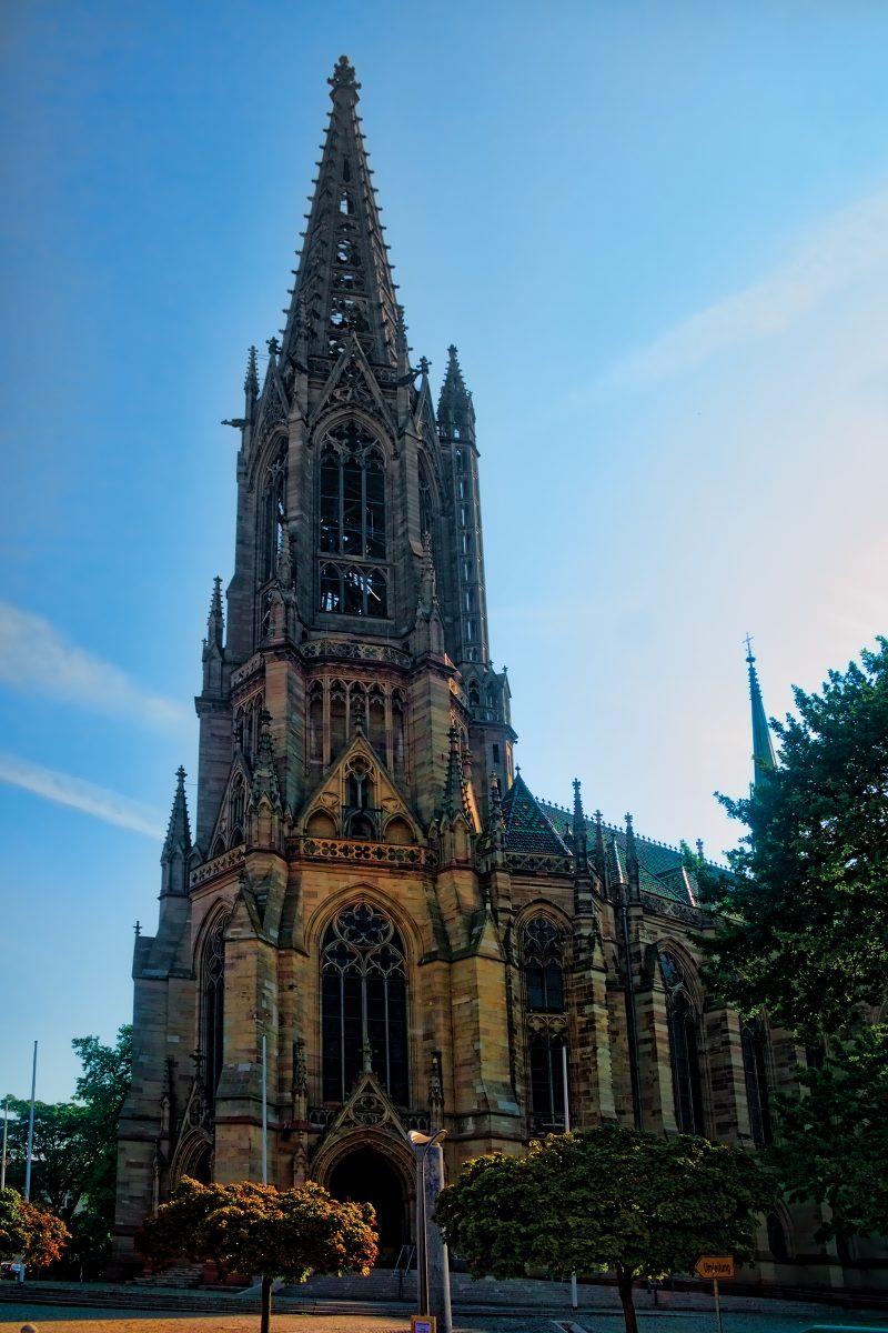 Die Gedächtniskirche zu Speyer. Foto:metopia