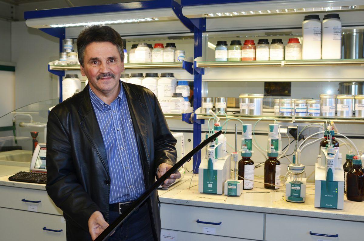 Geschäftsführer Dr. Thomas Moch, PANADUR GmbH. Foto: IMG/Toschner