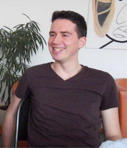 """Pierre Kurby hat """"Philosophie-Neurowissenschaften-Kognition"""" an der Otto-von-Guericke-Universität in Magdeburg studiert und ist heute mit einem Startup-Projekt """"So sprechen Machdeburjer"""" als Unternehmer sehr erfolgreich. Foto: aspekt"""